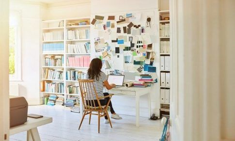 How to be productive at home